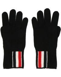 Thom Browne Gloves - Zwart