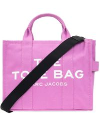 Marc Jacobs The Traveler Tote Shoulder Bag - Roze