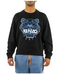 KENZO Sweatshirt Met Tijger - Zwart