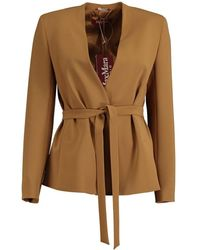 Max Mara Studio Fontana jacket - Marron