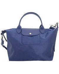 Longchamp LE Pliage NÉO TOP Handle BAG M - Blu