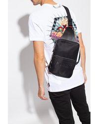 Philipp Plein Backpack with logo Negro