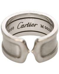 Cartier 18k C2 Ring Metaal 18k - Grijs