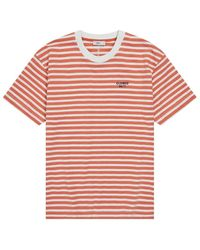 Closed 27/4 Striped TEE - Rosso