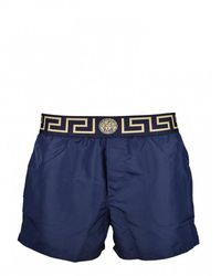 Versace Zwempak - Blauw
