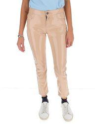 Laneus Slim Fit Trousers - Roze