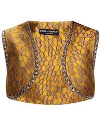 Dolce & Gabbana - Gilet fantasia - Lyst