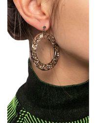 MISBHV Logo earrings - Gris