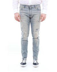 Represent M07012denim Slim Men Jeans - Blauw
