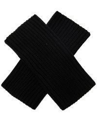Dolce & Gabbana Wool Gloves - Zwart
