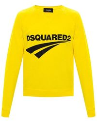 DSquared² Sweater - Geel