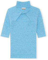 Chanel Soft Wool Knit - Bleu
