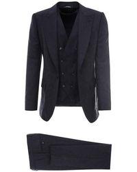 Dolce & Gabbana Suit - Blauw