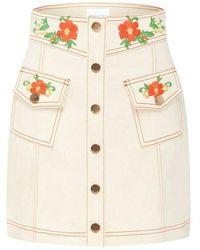 Alice McCALL Winona mini skirt - Rosa