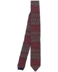 Missoni Tie - Rood