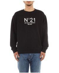 N°21 Sweatshirt - Zwart