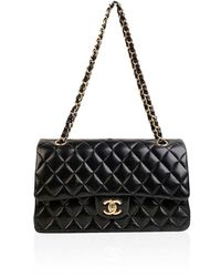 Chanel Classic Double Flap 2.55 Bag - Zwart