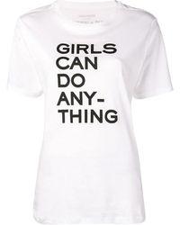 Zadig & Voltaire Gedrukte T-shirt - Wit