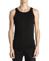 Alan Red Oakland Sleeveless Shirt Black - Zwart