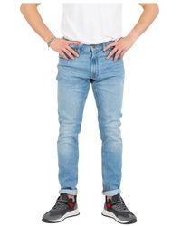 Lee Jeans Luke Light Medium Denim Jeans - Blauw