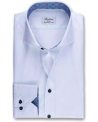 Stenströms Slimline Shirt - Blauw