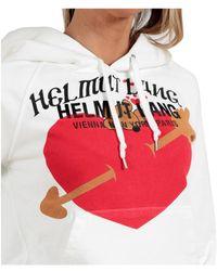 Helmut Lang Hoodie Blanco