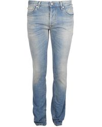 Roberto Cavalli - Slanke Jeans - Lyst