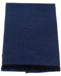 Kiton Scarf - Blauw