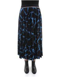 Gestuz Midi Skirt - Bleu