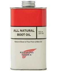 Red Wing All Natural Boot Oil - Rood
