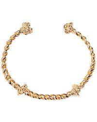Aurelie Bidermann Palazzo gold plated bangle bracelet - Jaune