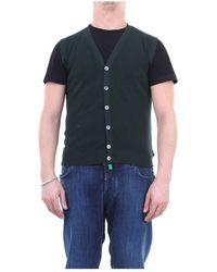 Zanone 811824zy318 Knitted Vest Men - Groen
