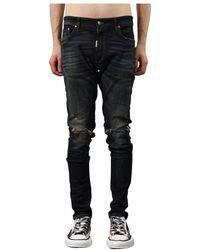 Prada Jeans destroyer denim - Nero