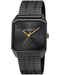 Esprit Watch Ur - Es1g071m0075 - Zwart
