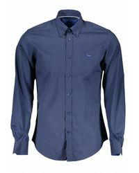 Harmont & Blaine Camisa Azul - Blauw