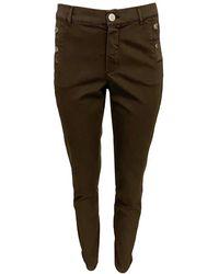 2-Biz Pantalon Kaxy - Marron