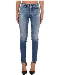 Dondup Skinny Jeans Model - Blauw