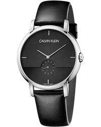 Calvin Klein Watch K9h2x1c1 - Zwart