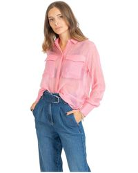 Maison Scotch Shirts - Roze