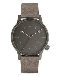Komono W2256 watch - Marron
