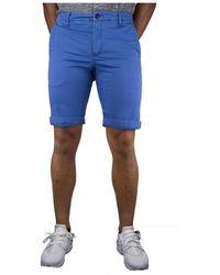 Peuterey Bermuda Wilbur - Bleu