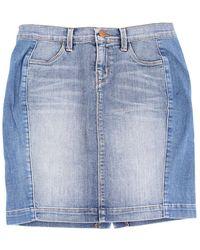 J Brand 7055C032 mini skirt - Bleu