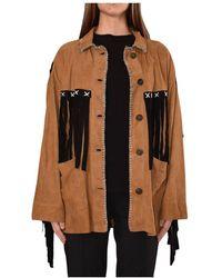 Giorgio Brato Leather Jacket - Marron