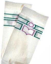 Étoile Isabel Marant Vilyna Socks Blanco