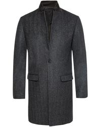 AllSaints 'Merton' single-vented coat - Gris