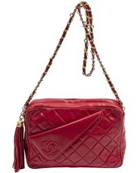 Chanel Vintage Doudoune Recyclée Jacket - Rood