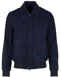 Santa Eulalia Jacket With Two Pockets - Blauw