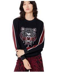 KENZO Sudadera Tiger - Zwart