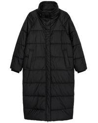 Marc O'polo Long Puffer Coat - Zwart
