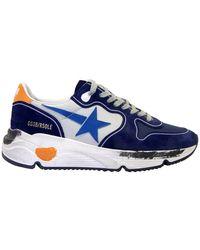 Golden Goose Deluxe Brand Sneakers Running - Blauw